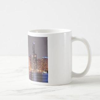 Brisbane Night Skyline Coffee Mug