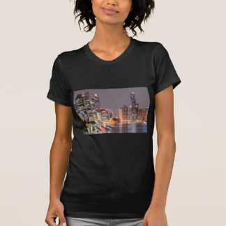 Brisbane Night Skyline T-Shirt