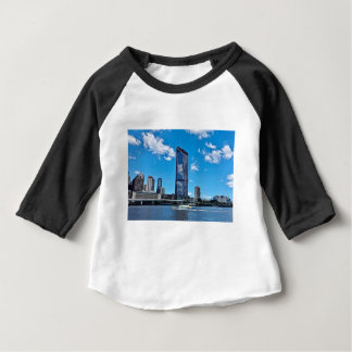 Brisbane Skyline Baby T-Shirt
