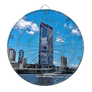 Brisbane Skyline Dartboard