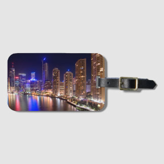 Brisbane Skyline Luggage Tag