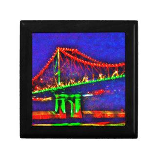 BRISBANE STOREY BRIDGE AUSTRALIA ART EFFECTS GIFT BOX