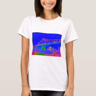 BRISBANE STOREY BRIDGE AUSTRALIA ART EFFECTS T-Shirt