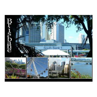 Brisbanes Beautiful Southbank Postcard