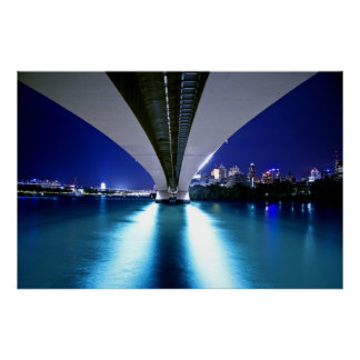Brisbane's Captain Cook Bridge Poster