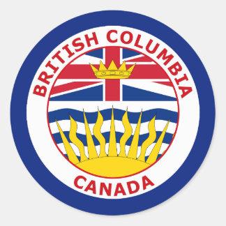 BRISTISH COLUMBIA, CANADA STICKERS