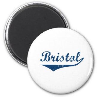 Bristol 2 Inch Round Magnet