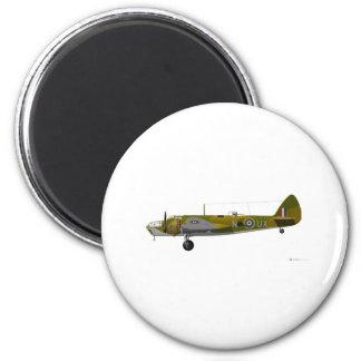 Bristol Aeroplane Co Blenheim 2 Inch Round Magnet