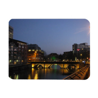 Bristol at Night Rectangular Photo Magnet