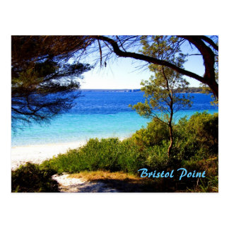 Bristol Beach, Bristol Point Postcard