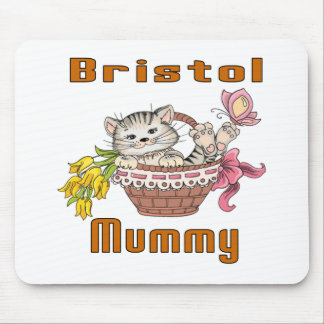 Bristol Cat Mom Mouse Pad