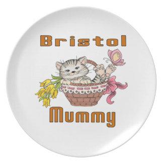 Bristol Cat Mom Plate