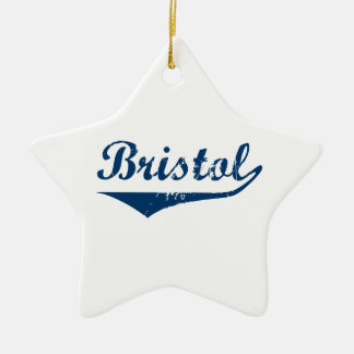 Bristol Ceramic Ornament