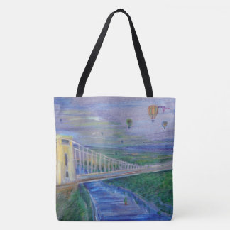 Bristol - Clifton Suspension Bridge Tote Bag