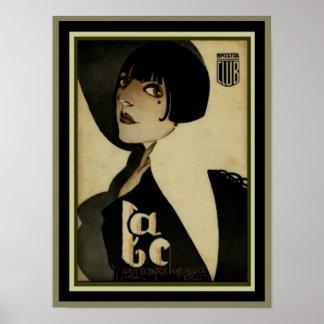 Bristol Club Art Deco Poster 12 x 16
