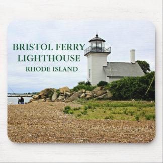 Bristol Ferry Lighthouse, Rhode Island Mousepad