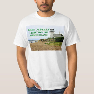 Bristol Ferry Lighthouse, Rhode Island T-Shirt