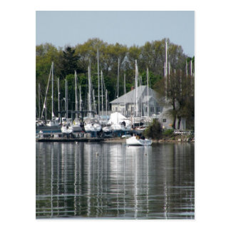 Bristol Harbor Postcard