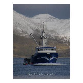 Bristol Mariner, Crab Boat in Dutch Harbor, Alaska Postcard