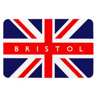 Bristol UK Flag Rectangular Photo Magnet
