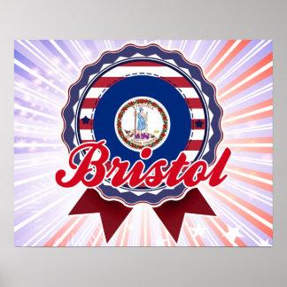 Bristol VA Poster
