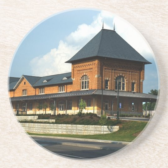 Bristol Virginia Train Station Coaster
