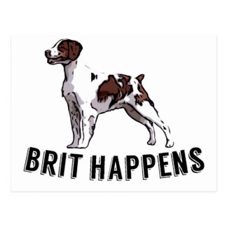 Brit Happens - Brittany Postcard