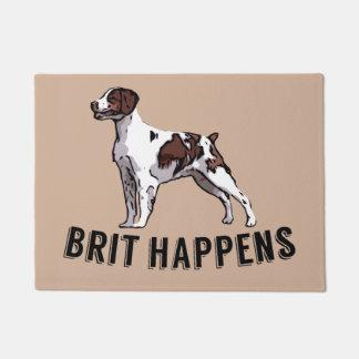 Brit Happens Doormat