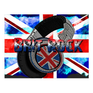 Brit Rock Postcards