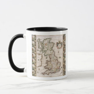 Britain As It Was Devided In The Tyme of the Engli Mug