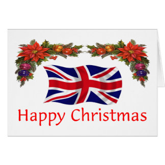Britain Christmas Card