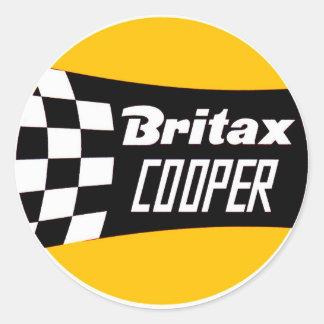Britax Mini Cooper Sticker