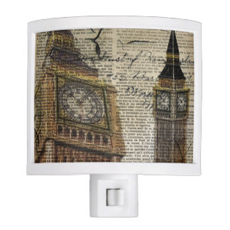 Britian England london clocktower big ben Night Lights