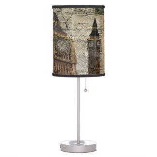 Britian England london clocktower big ben Table Lamp
