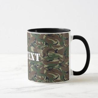 British 95 Forest Green Camouflage Mug