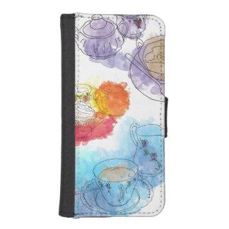 British Afternoon Tea iPhone 5 Wallet Case
