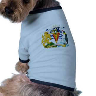 British Antarctic Official Coat Of Arms Heraldry Dog Shirt