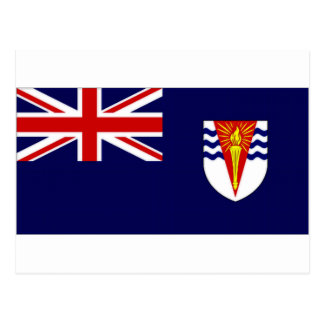 British Antarctic Territory Flag Postcard