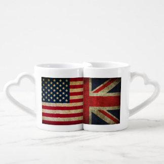British at heart American born love mug