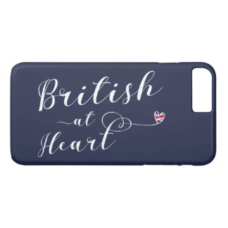 British At Heart Mobile Phone Case