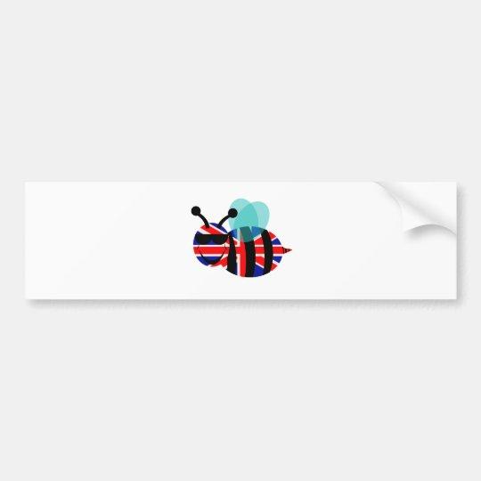 british bee bumper sticker