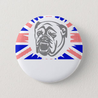 British Bulldog 2 Inch Round Button