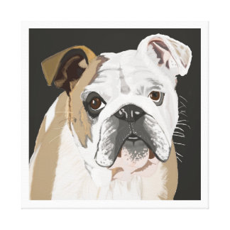 British Bulldog Canvas Print