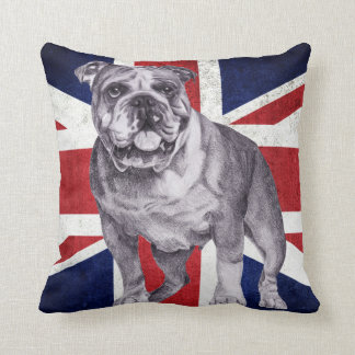 British Bulldog - English Bulldog Cushion
