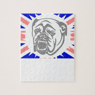 British Bulldog Jigsaw Puzzle
