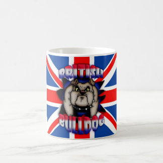 British Bulldog Mug, With Union Jack Coffee Mug