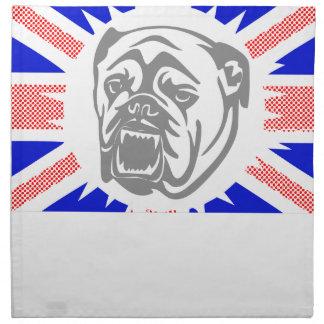 British Bulldog Napkin