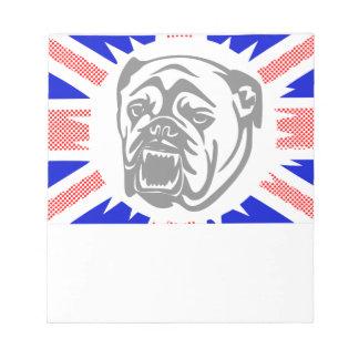 British Bulldog Notepad