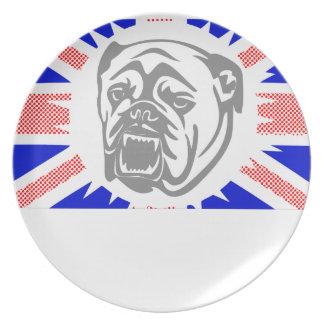 British Bulldog Plate