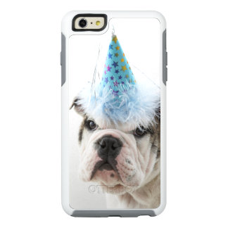 British Bulldog Puppy Wearing A Party Hat OtterBox iPhone 6/6s Plus Case